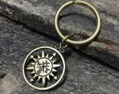 compass keychain
