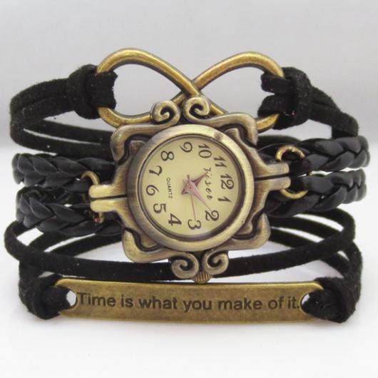 Infinity charm watch