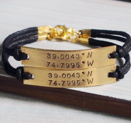 couples-bracelet-coordinates-bracelet