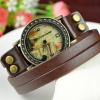 eiffel tower wrap bracelet watch