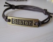 sister wrap bracelet