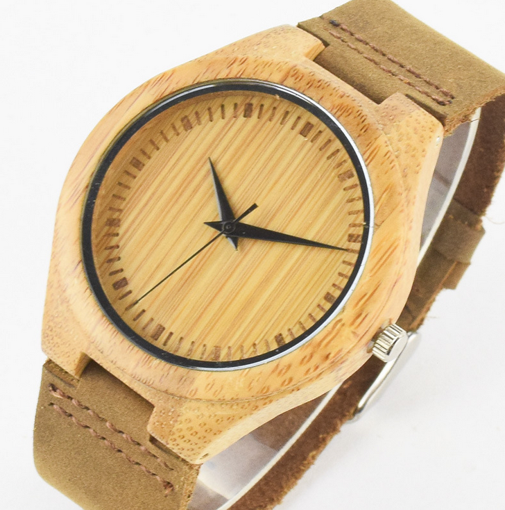 Wooden Watch Mens Watches Groomsmen Gifts Anniversary Gift For Men Wedding Bamboo