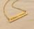 Coordinates necklace, Custom Coordinates necklace, Personalized coordinates necklace, GPS coordinates necklace,Coordinates jewelry, Personalized Bar necklace, gold bar necklace, Personalized bar necklace, custom necklace