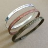 quote bracelets quote bangle for her