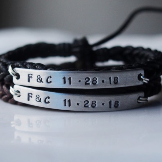 Customized couples bracelets, couples bracelets, customized bracelets