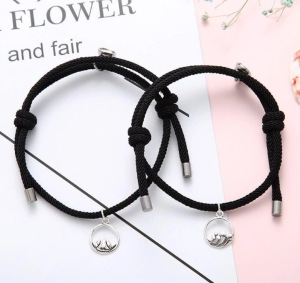 black magnetic bracelets