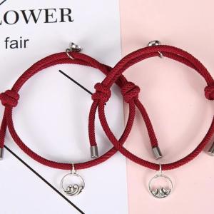 Red magnetic bracelets