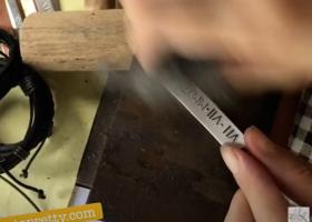 polish the metal sheet