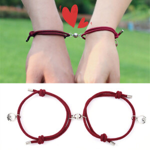 magnetic couples matching bracelets