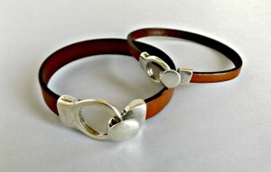 leather bracelet for couples